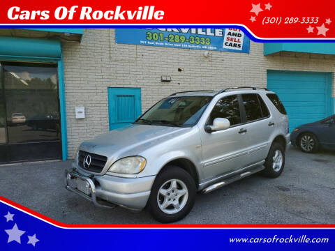 2000 Mercedes-Benz M-Class for sale at Cars Of Rockville in Rockville MD