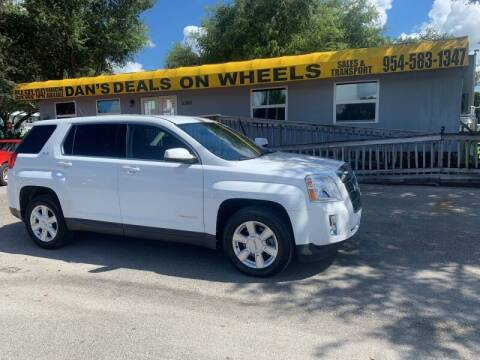 2011 GMC Terrain for sale at DAN'S DEALS ON WHEELS in Davie FL