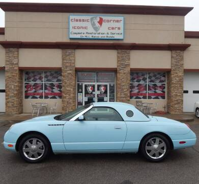 2003 Ford Thunderbird for sale at Iconic Motors of Oklahoma City, LLC in Oklahoma City OK