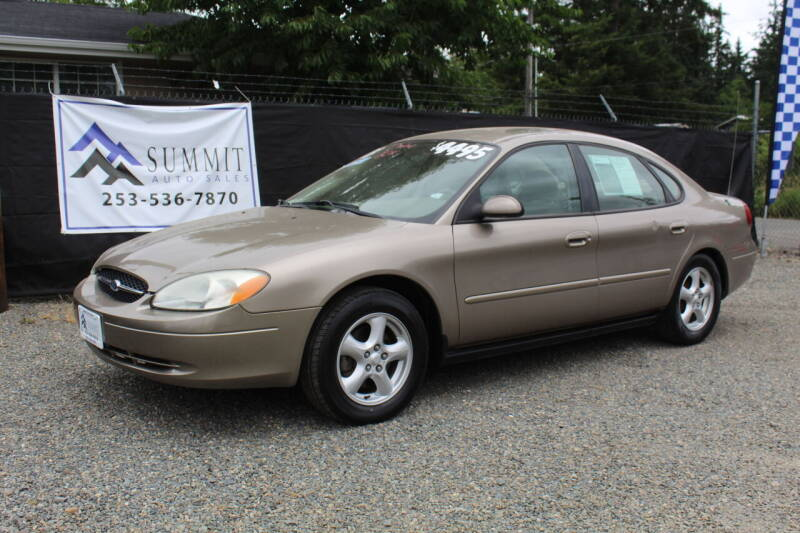 2003 Ford Taurus for sale at Summit Auto Sales in Puyallup WA