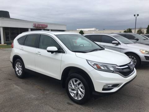 2015 Honda CR-V for sale at Haynes Auto Sales Inc in Anderson SC