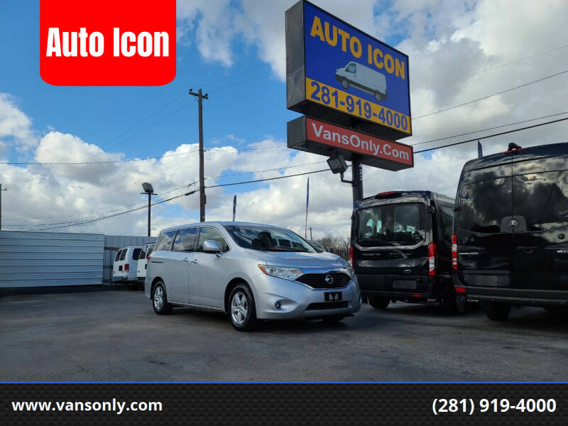 2014 Nissan Quest for sale at Auto Icon in Houston TX