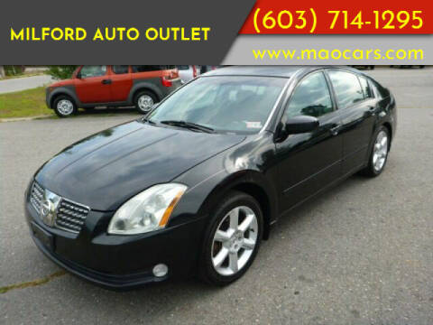 2006 Nissan Maxima for sale at Milford Auto Outlet in Milford NH