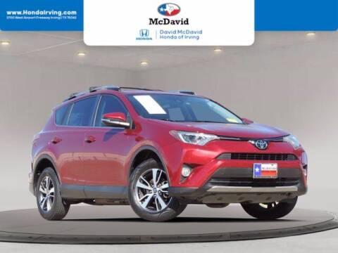 2018 Toyota RAV4 for sale at DAVID McDAVID HONDA OF IRVING in Irving TX
