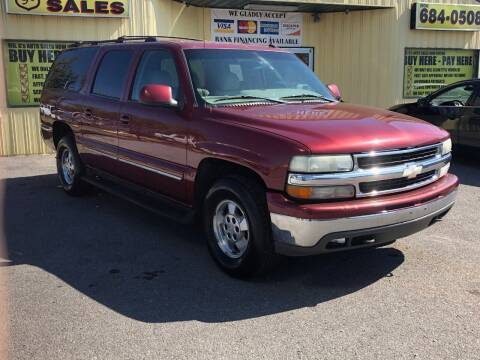 2003 Chevrolet Suburban for sale at Mr. G's Auto Sales in Shelbyville TN