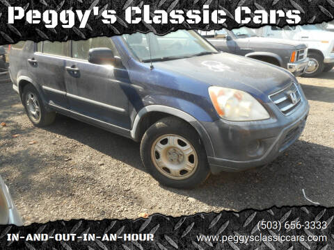 2005 Honda CR-V for sale at Peggy's Classic Cars in Oregon City OR