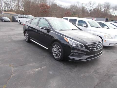 2015 Hyundai Sonata for sale at MATTESON MOTORS in Raynham MA