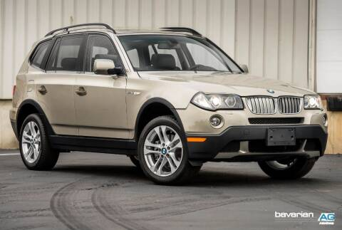 2007 BMW X3 for sale at BAVARIAN AUTOGROUP LLC in Kansas City MO