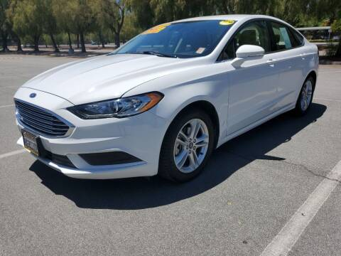 2018 Ford Fusion for sale at ALL CREDIT AUTO SALES in San Jose CA