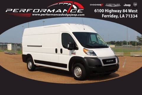 2021 RAM ProMaster Cargo for sale at Performance Dodge Chrysler Jeep in Ferriday LA