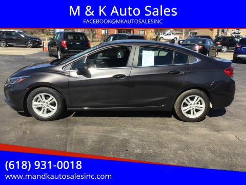 2017 Chevrolet Cruze for sale at M & K Auto Sales in Granite City IL
