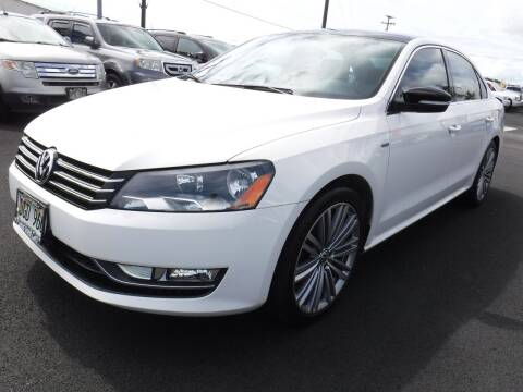 2014 Volkswagen Passat for sale at PONO'S USED CARS in Hilo HI