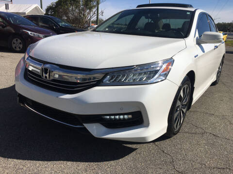 2017 Honda Accord Hybrid for sale at Capital City Imports in Tallahassee FL