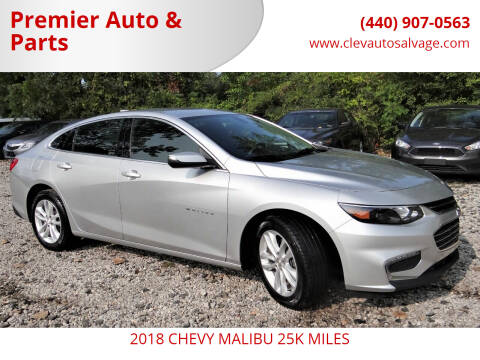 2018 Chevrolet Malibu for sale at Premier Auto & Parts in Elyria OH