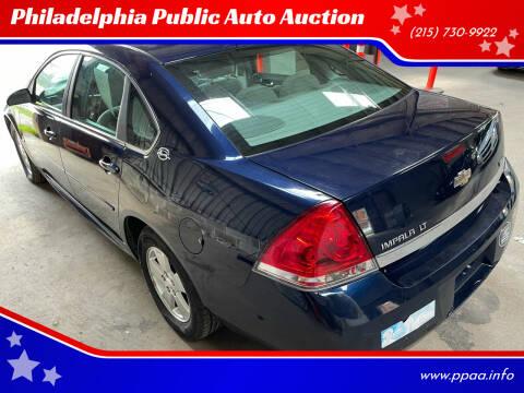 2009 Chevrolet Impala for sale at Philadelphia Public Auto Auction in Philadelphia PA