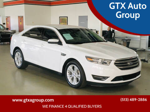 2015 Ford Taurus for sale at GTX Auto Group in West Chester OH