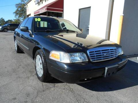 2010 Ford Crown Victoria for sale at AutoStar Norcross in Norcross GA
