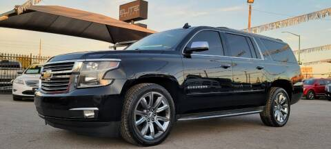 2015 Chevrolet Suburban for sale at Elite Motors in El Paso TX