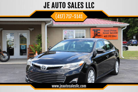 2014 Toyota Avalon for sale at JE AUTO SALES LLC in Webb City MO