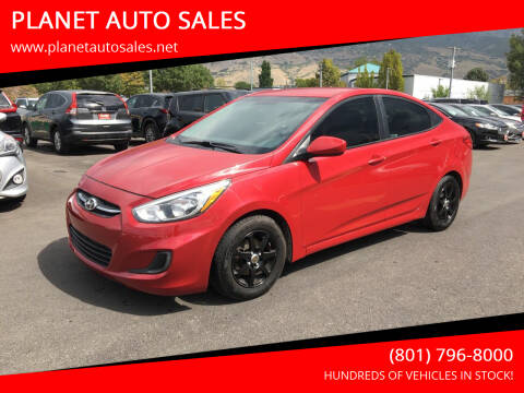 2017 Hyundai Accent for sale at PLANET AUTO SALES in Lindon UT