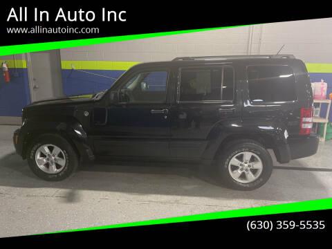 2012 Jeep Liberty for sale at All In Auto Inc in Addison IL