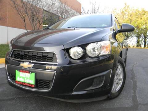 2015 Chevrolet Sonic for sale at Dasto Auto Sales in Manassas VA
