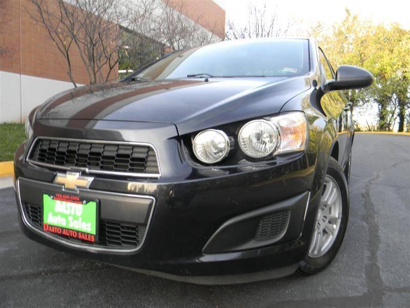 2015 Chevrolet Sonic for sale at Dasto Auto Sales in Manassas VA