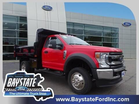 2021 Ford F-550 Super Duty for sale at Baystate Ford in South Easton MA