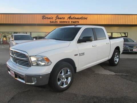 2017 RAM Ram Pickup 1500 for sale at Bernie Jones Auto in Cambridge NE