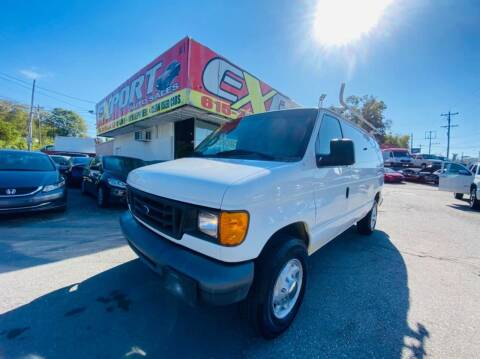 2007 Ford E-Series Cargo for sale at EXPORT AUTO SALES, INC. in Nashville TN
