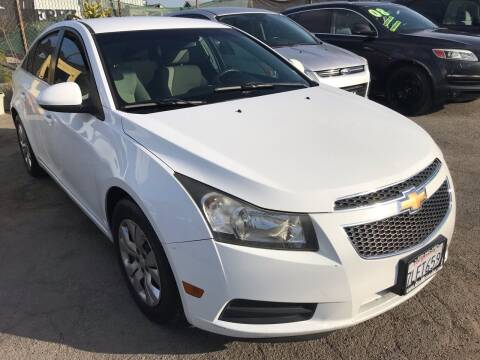 2011 Chevrolet Cruze for sale at CAR GENERATION CENTER, INC. in Los Angeles CA