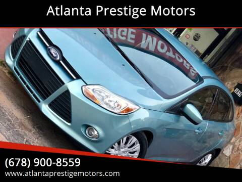 2012 Ford Focus for sale at Atlanta Prestige Motors in Decatur GA