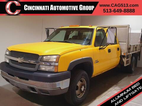 2003 Chevrolet Silverado 3500 for sale at Cincinnati Automotive Group in Lebanon OH