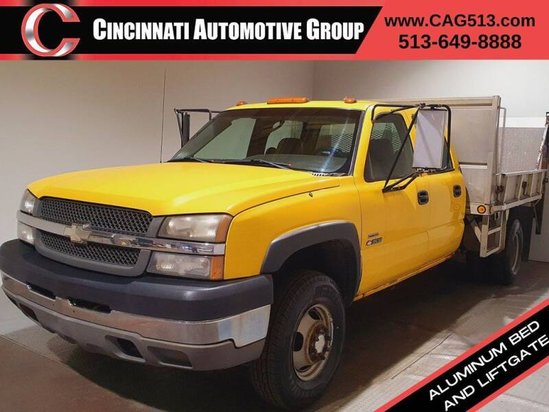 2003 Chevrolet Silverado 3500 for sale at Cincinnati Automotive Group in Lebanon OH