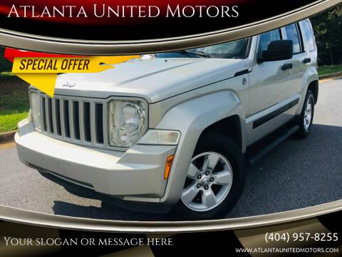 2009 Jeep Liberty for sale at Atlanta United Motors in Buford GA