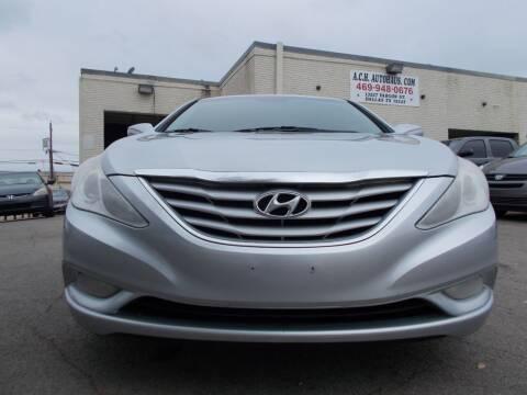 2013 Hyundai Sonata for sale at ACH AutoHaus in Dallas TX