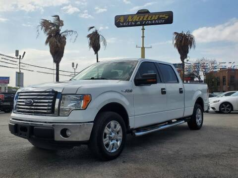 2012 Ford F-150 for sale at A MOTORS SALES AND FINANCE - 6226 San Pedro Lot in San Antonio TX