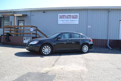 2011 Chrysler 200 for sale at Dave's Auto Sales in Winthrop MN