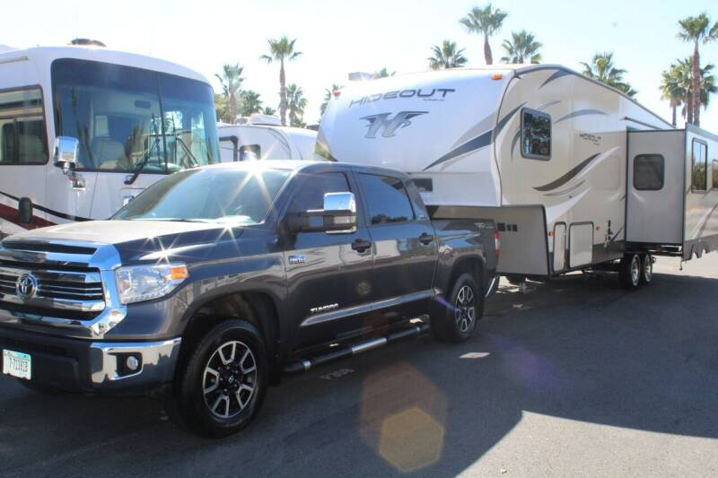 2018 Keystone Hide Out 262RES & 2016 Tundra for sale at Rancho Santa Margarita RV in Rancho Santa Margarita CA