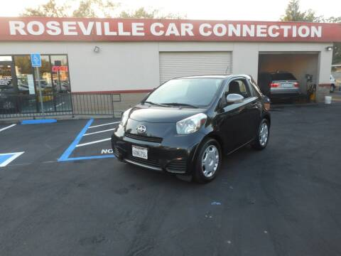 2012 Scion iQ for sale at ROSEVILLE CAR CONNECTION in Roseville CA