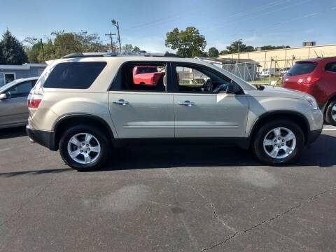 2011 GMC Acadia for sale at Kenny's Auto Sales Inc. in Lowell NC