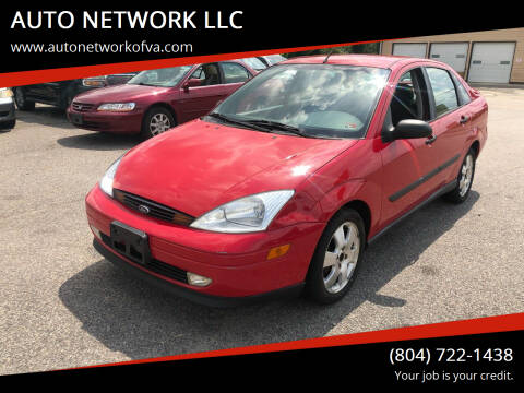 2001 Ford Focus for sale at AUTO NETWORK LLC in Petersburg VA