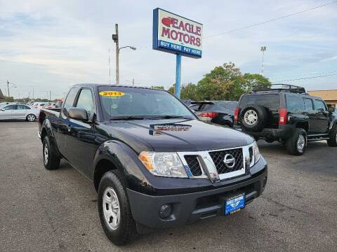 2013 Nissan Frontier for sale at Eagle Motors in Hamilton OH