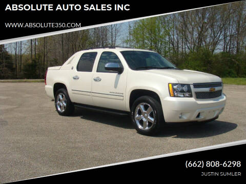 2013 Chevrolet Avalanche for sale at ABSOLUTE AUTO SALES INC in Corinth MS