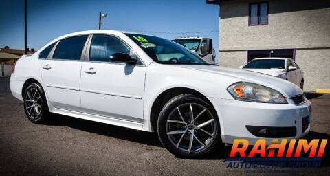 2010 Chevrolet Impala for sale at Rahimi Automotive Group in Yuma AZ