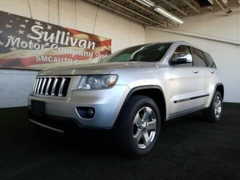 2013 Jeep Grand Cherokee for sale at SULLIVAN MOTOR COMPANY INC. in Mesa AZ