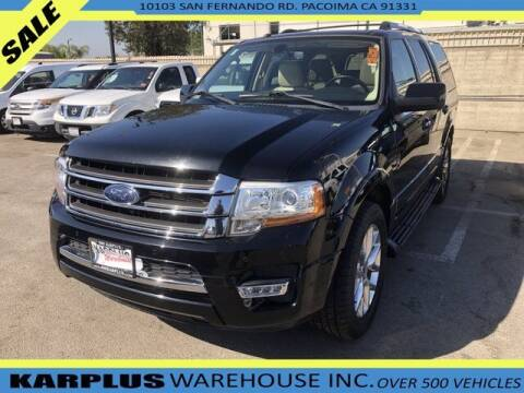2016 Ford Expedition for sale at Karplus Warehouse in Pacoima CA