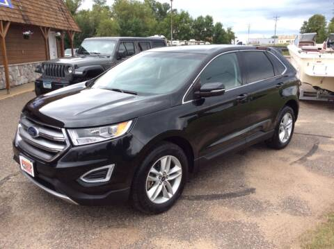 2015 Ford Edge for sale at MOTORS N MORE in Brainerd MN