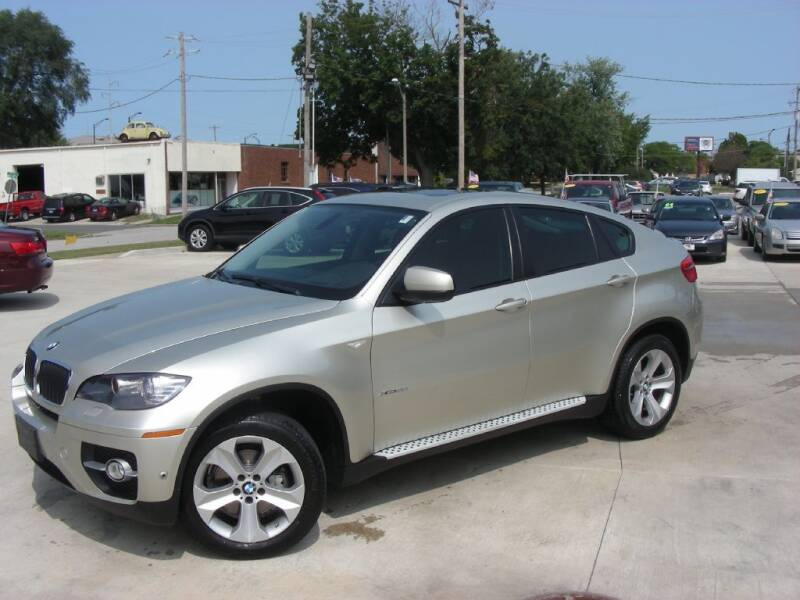 2012 BMW X6 for sale at EURO MOTORS AUTO DEALER INC in Champaign IL