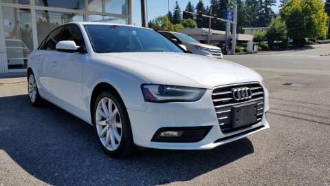 2013 Audi A4 for sale at Seattle's Auto Deals in Everett WA